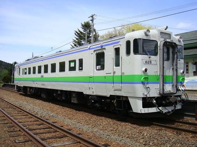 JR北海道に在籍のキハ40。ローカル線普通列車の主力だが、全車が非冷房(Wikimedia Commonsより)