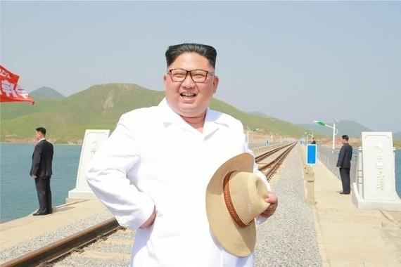 これで金正恩氏との「無条件での首脳会談」は実現できるのか(写真は労働新聞から)