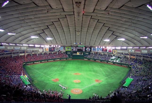 東京ドーム(試合当日の写真ではありません)