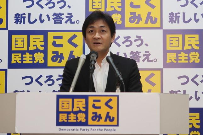 国民民主党の玉木雄一郎代表は、N国との関係について「『党として何か』ということにはつながらない」と話している