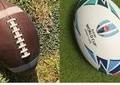 W杯の裏で相次ぐ「#ラグビーボール問題」 アメフト球と勘違い続出、テレビ局も...