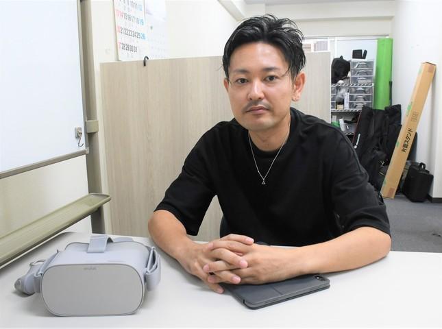 代表取締役の西江氏(2019年10月3日編集部撮影)
