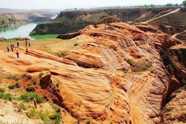 「不毛の地」と呼ばれる黄土高原