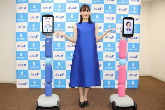 ANA HDは、「newme(ニューミー)」と呼ばれるアバターロボットを発表。2020年夏までに1000体の普及を目指す