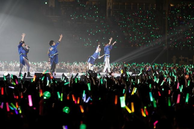 「アイドルマスターSideM」の出演シーン