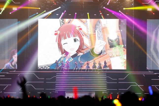 オープニングアクトはアイドルマスター・765プロオールスターズの「READY!!」で開演
