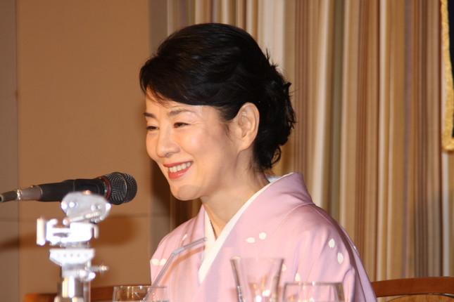 吉永小百合さん(2010年撮影)