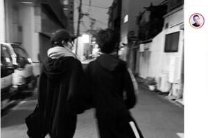 冨永愛、14歳長男が「いつの間にか同じ背丈に」 心身の成長に感慨深く