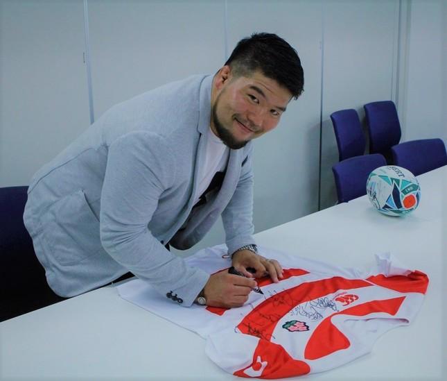 畠山健介さん。北米プロリーグへの挑戦を明らかにしている