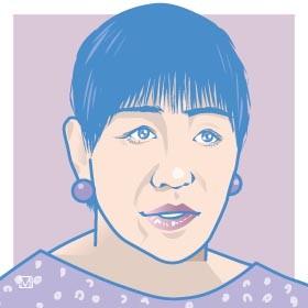 和田アキ子さん。WBSSを現地観戦