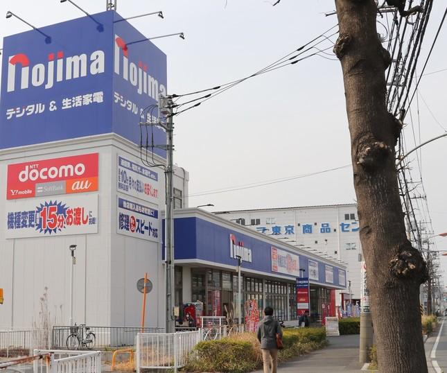 ノジマの店舗。スルガ銀行をどう立ち直らせる?