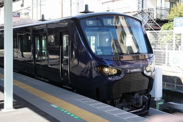 相鉄からは20000系電車がJR線に乗り入れる