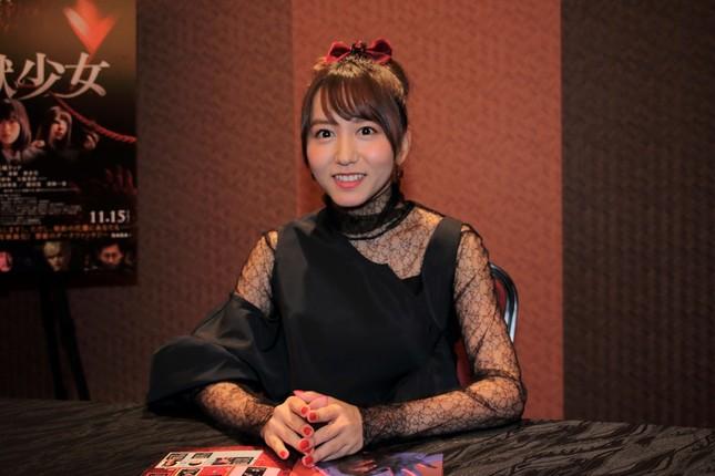 SKE48の大場美奈さん。映画「地獄少女」出演以外にも主演舞台「ハケンアニメ!」など活躍の場を広げている