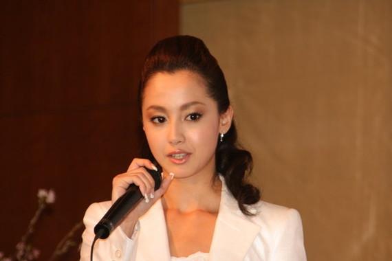 沢尻エリカ容疑者が逮捕された(写真は2010年撮影)