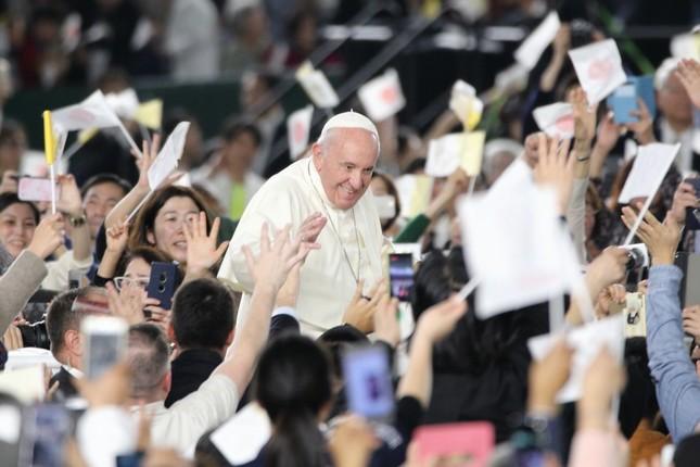 フランシスコ 教皇 来 日 ミサ