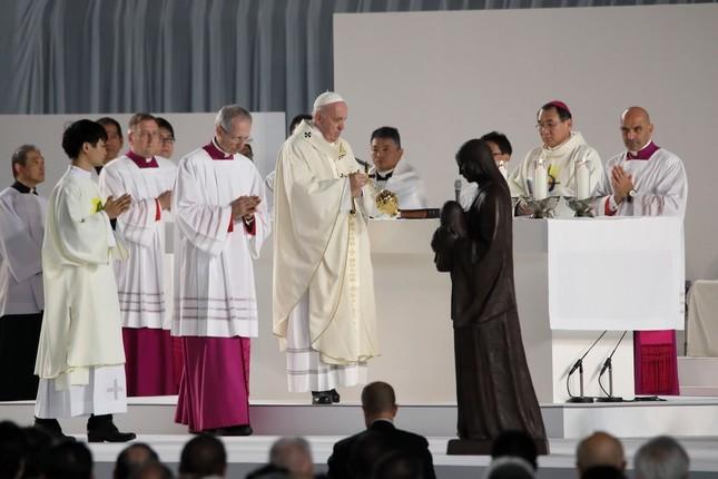 教皇 ミサ 東京 ドーム