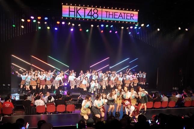 8周年を迎えたHKT48。2020年春には専用劇場がオープンする