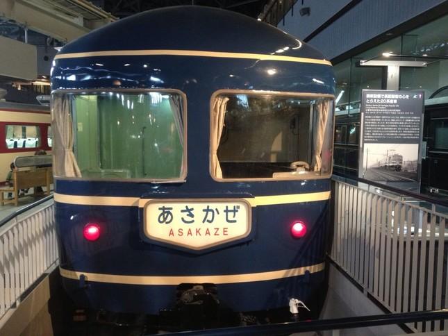 ブルートレインのはしりである寝台特急「あさかぜ」は東京と下関・博多を結んだ