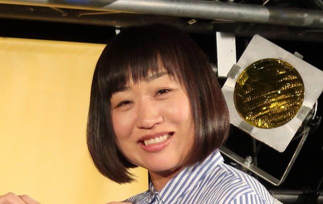 山崎静代さん(2018年撮影)