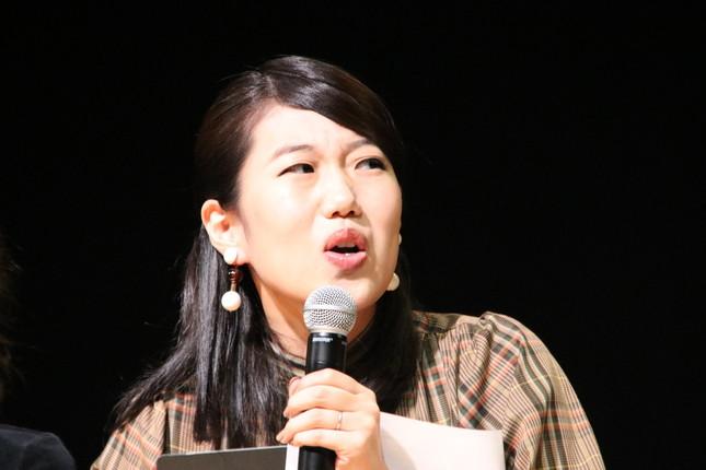 横澤夏子さん(9月撮影)