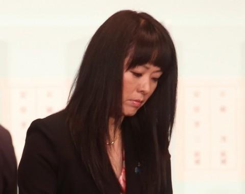 杉田水脈衆院議員(18年9月20日、自民党総裁選で)