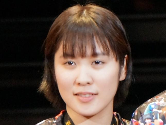 平野美宇(19年3月撮影)