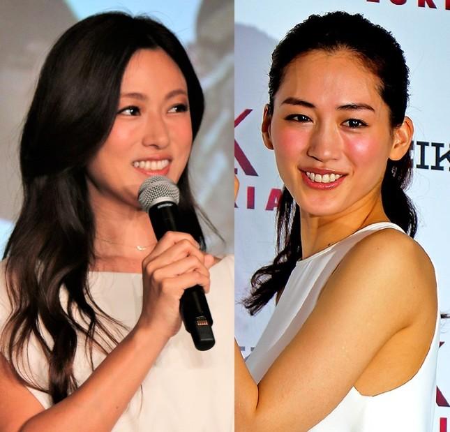 深田恭子さんと綾瀬はるかさん