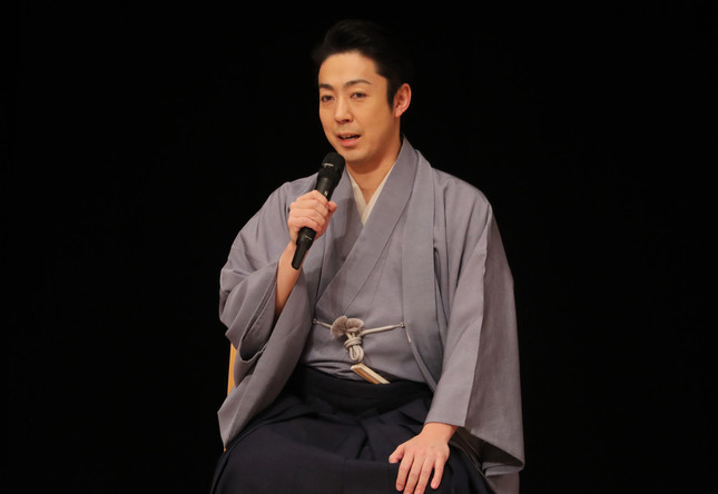 尾上菊之助さん(写真:つのだよしお/アフロ)。歌舞伎「風の谷のナウシカ」の千秋楽を報告した