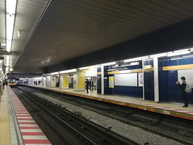 1938年以来81年の歴史を終える現銀座線渋谷駅ホーム
