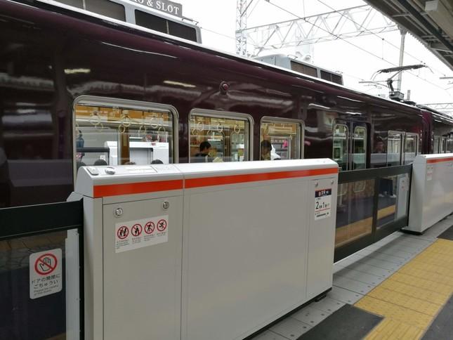阪急電鉄のホームドア