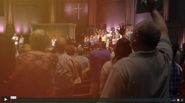 福音派の教会のひとつカルバリー・チャーチのホームページ