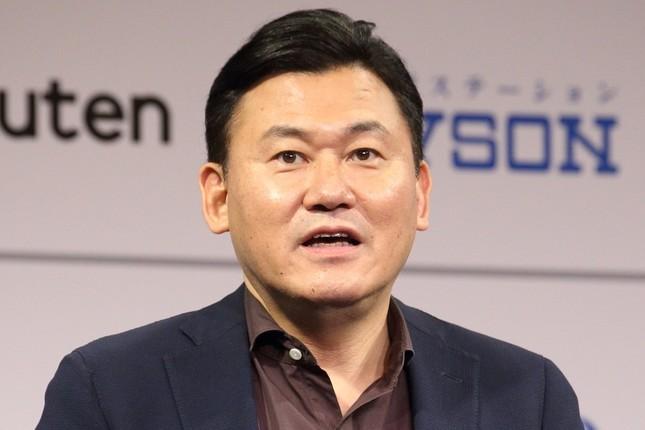 三木谷浩史氏(2017年10月撮影)