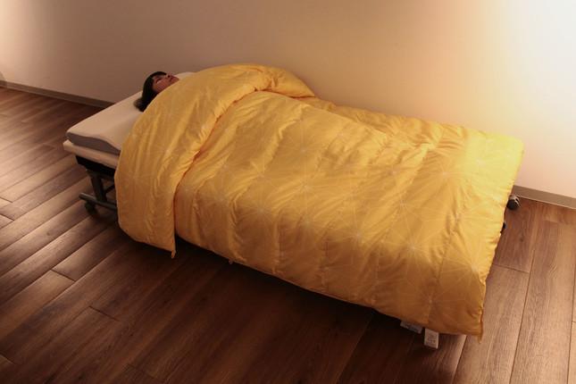 ショップジャパンの睡眠ルーム(ショップジャパン提供)