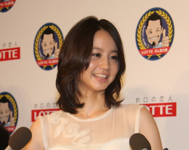 堀北真希さん(2010年)