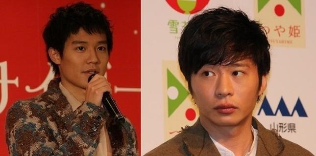 左:小出恵介さん/右:田中圭さん