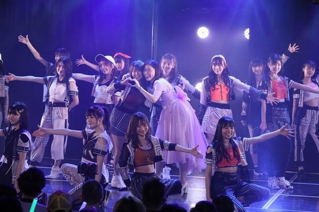 松井珠理奈さんの卒業はSKE48劇場での公演で発表された(c)2020 Zest,Inc.