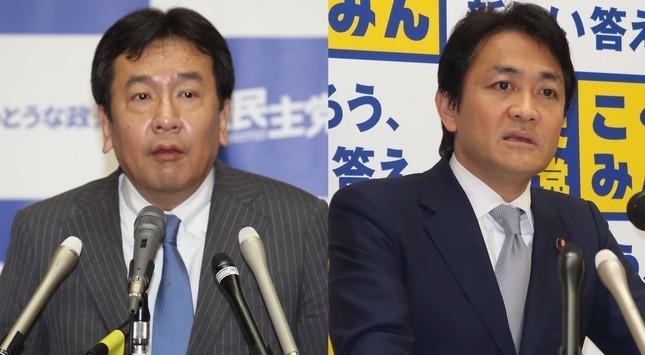 立憲民主党の枝野幸男、 国民民主党の玉木雄一郎両代表の「連携プレー」は上手くいったのか