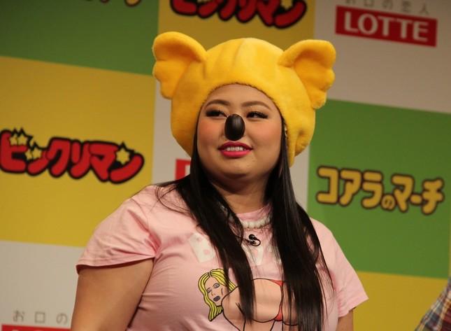 渡辺直美さん(2016年)。新型コロナで思わぬ影響