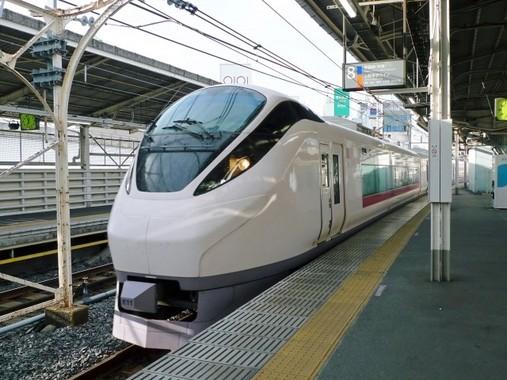 大震災から9年、「ひたち」は車両を写真のE657系に一新し9年ぶりに仙台まで走る