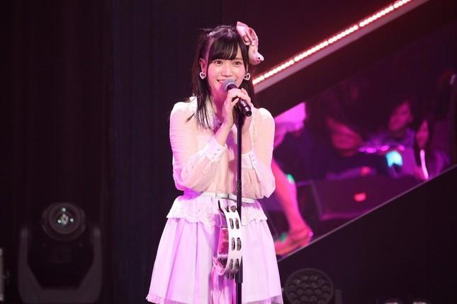 シングル表題曲では初めてのセンターポジションに抜てきされたHKT48の運上弘菜さん(2019年11月撮影)