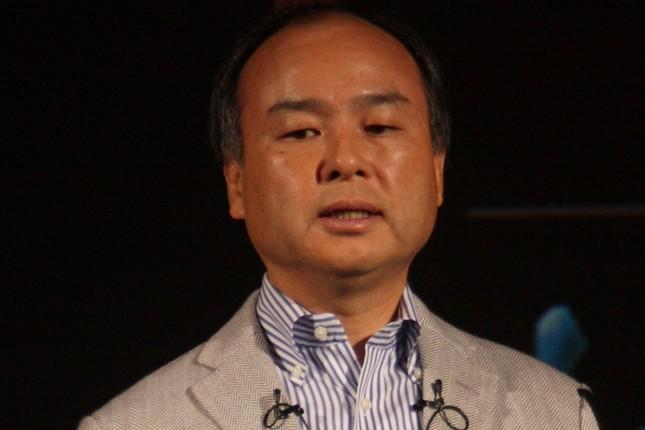 孫正義氏(2012年10月撮影)