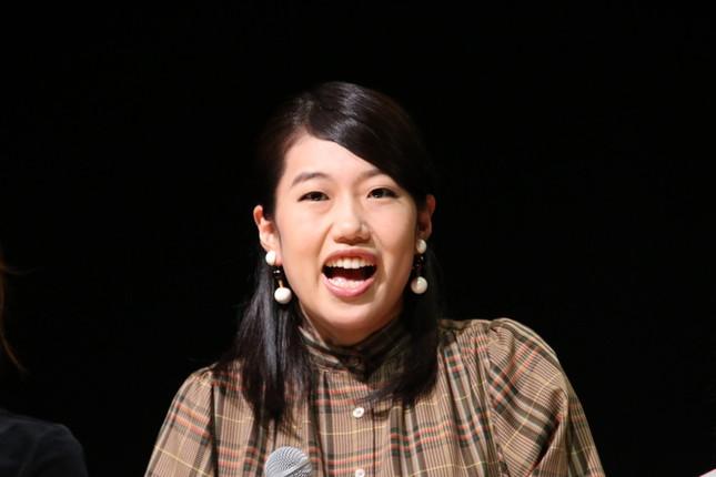 横澤夏子さん(2019年)。一児のママとなったばかり
