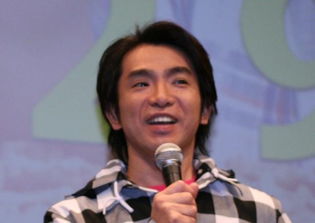 濱口優さん(2008年)。思わぬ遭遇に笑顔