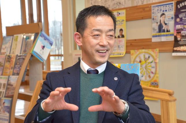 ラオスに訪問経験がある大澤和巳さんは、子どもたちの交流の重要性を話した