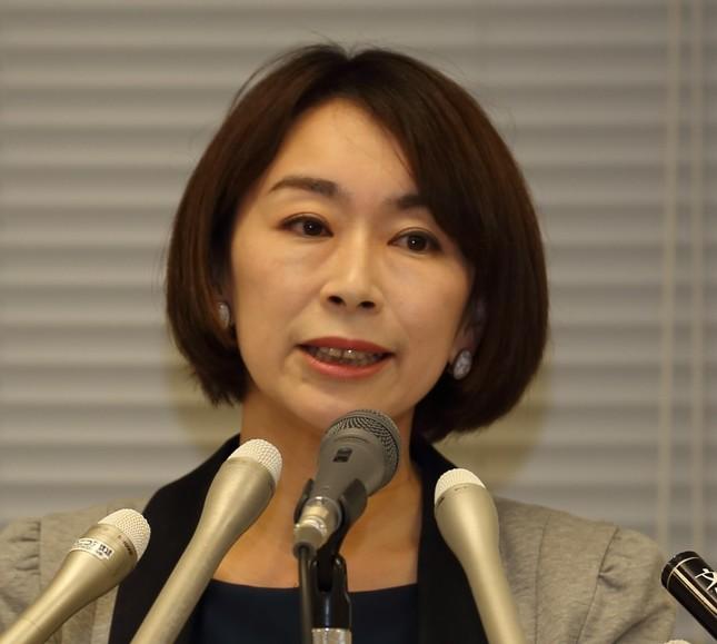山尾志桜里氏(2016年)