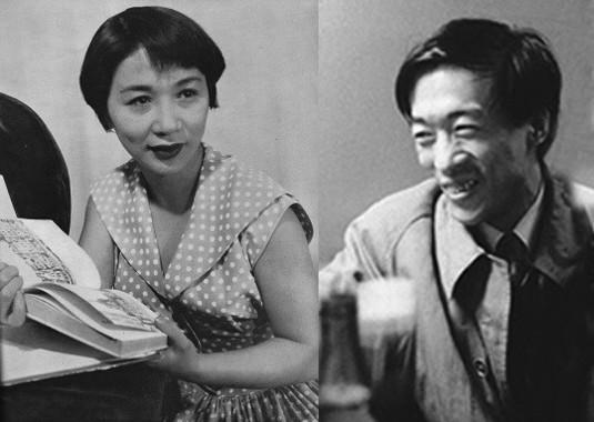 1950年代半ばの宮城さん、吉行さん