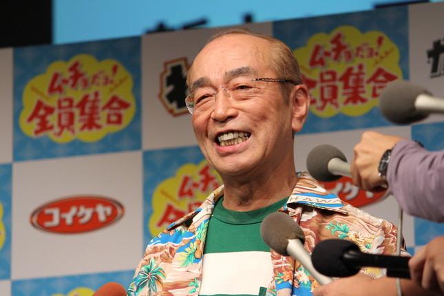 志村けんさん。中華圏からも心配の声が
