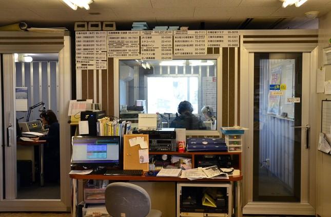 ラジオ石巻のスタジオは現在、JR石巻駅に近い建物にある