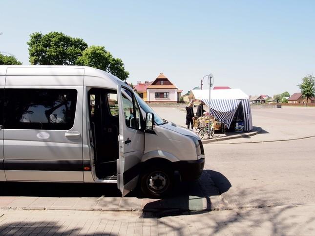 東ヨーロッパ、ベラルーシのミニバス