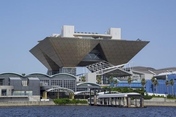 東京ビッグサイトは国際放送センター(IBC)に予定されている